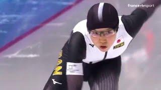 JO 2018 : Patinage de vitesse - 500 mètres Femmes. Nao Kodaira championne olympique !