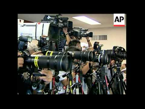 Candidates to become leader of ruling LDP Party file papers, presser