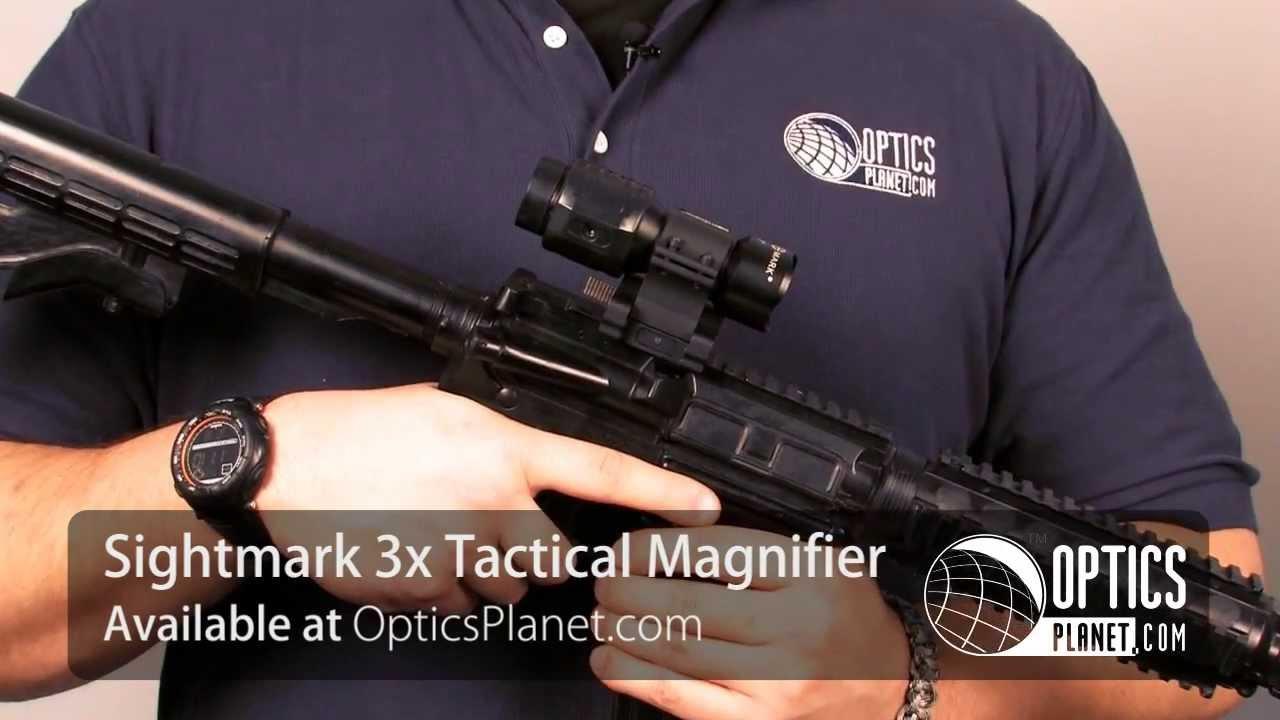 Sightmark Slide To Side 3x Tactical Magnifier