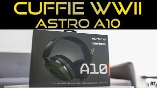 CALL OF DUTY ASTRO A10 HEADSET - COD WWII [WW2 ITA]