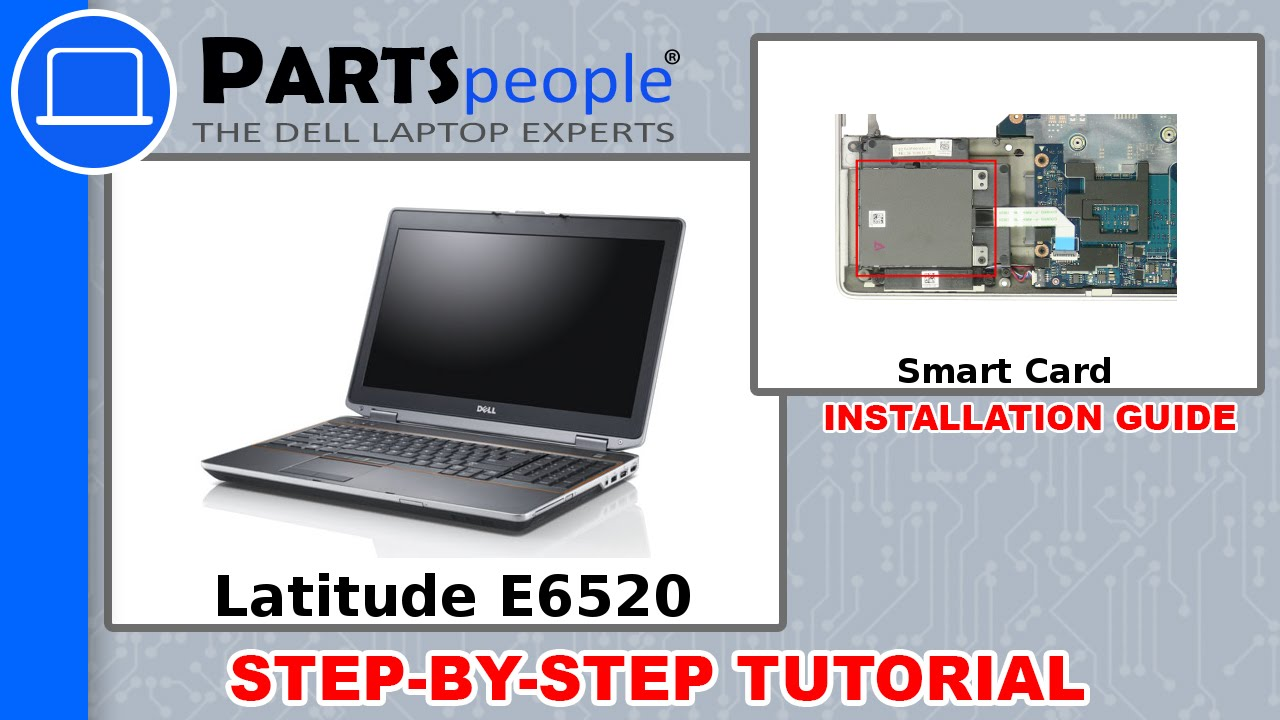 Dell Latitude E6520 (P14F001) Smart Card Slot How-To Video Tutorial