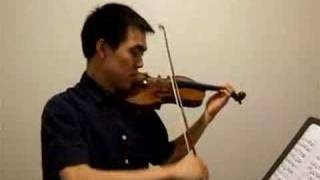 Bach Double 1st Violin (with 2nd softer in background)