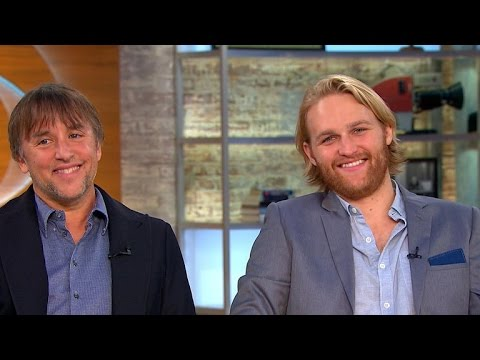 Richard Linklater and Wyatt Russell on