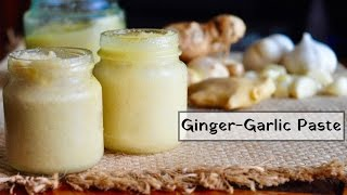 How to make Ginger Garlic Paste at home | Recipes