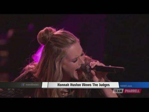 Hannah Huston Wows The Judges