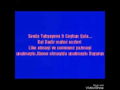 Sevda Yahyayeva və Ceyhun Qala - Bal dadır (Zaurla GÜNAYdın)