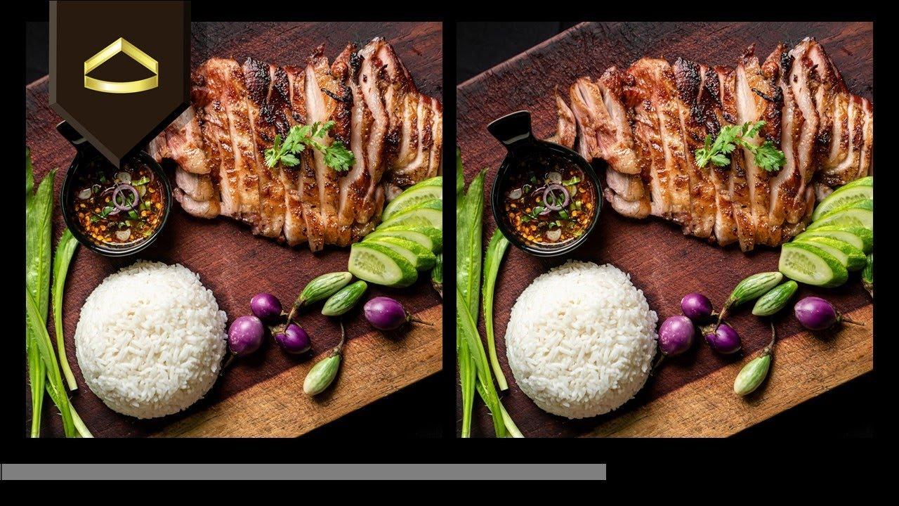 เกมจับผิดภาพ - Picture puzzle online game Ep.12 Thai food I อาหารไทย