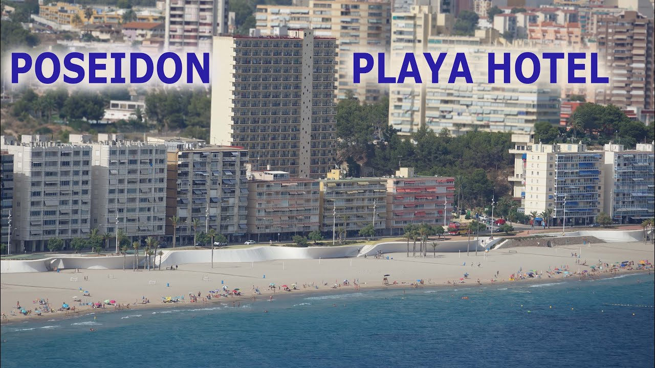 Hotel poseidon playa benidorm spain 4k youtube for Hotel poseidon benidorm
