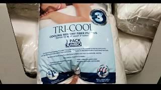 costco lc platinum tri cool memory fiber pillow 2 pack 19