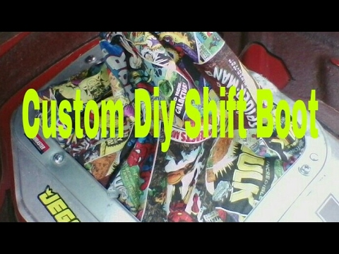 how to make a shift boot