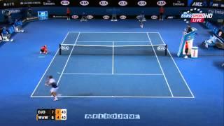 novak djokovic vs stan wawrinka highlights hd 720p australian open 2015