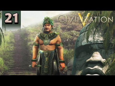 Civilization 5 - Modded Let's Play [The Olmec] - Part 21