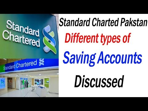 standard chartered bank pakistan: types of saving account of scb(2018)