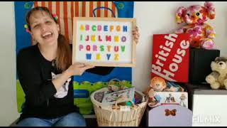 British House: Music time in English! The  ABC song