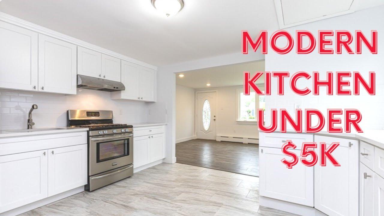 Kitchen Remodel For Rental Property Under 5k Cost Breakdown 2020 Youtube