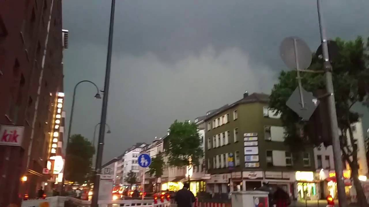 Unwetter Köln