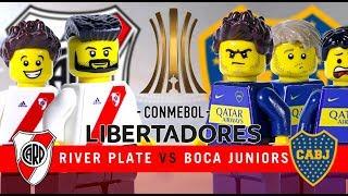 LEGO Final COPA LIBERTADORES River Plate 3 - 1 Boca Juniors 2018