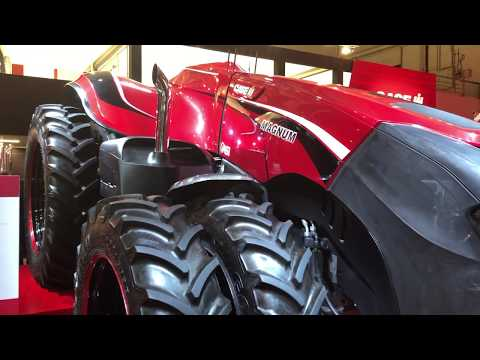 CASE IH MAGNUM - Önvezető traktor az Agritechnica kiállításon