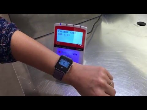 Apple Pay demo with Apple Watch