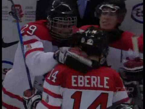 Jordan Eberle Team Canada Semi Final Tying Goal vs. Russia