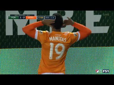 ¡GOL! Mauro Manotas | Portland Timbers 1-2 Houston Dynamo | MLS Playoffs