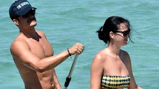 NSFW: Orlando Blooms Gets Completely Naked During Beach Getaway with Katy Perry -- See the Pics!