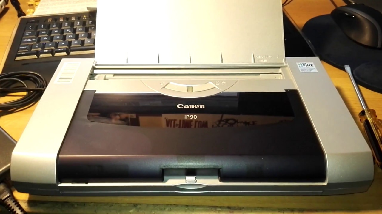 DRIVER FOR CANON INKJET I90