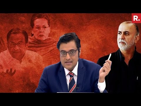 Arnab Goswami On Sonia Gandhi's Secret Letter To Chidambaram