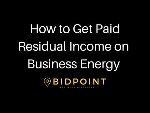 Bidpoint Avion Energy Call How to Earn Residual income on bu