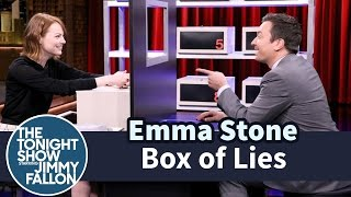 Jimmy and Emma take turns trying to stump each other about what item is hidden inside their mystery boxes. Subscribe NOW to The Tonight Show Starring ...