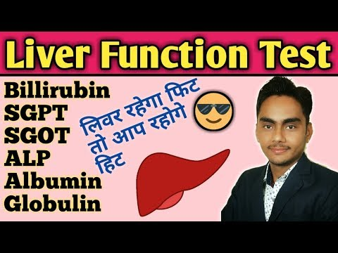 Liver Function Test In Hindi Ll Sgpt Sgot Test In Hindi   Ll Liver Function Test Normal Range
