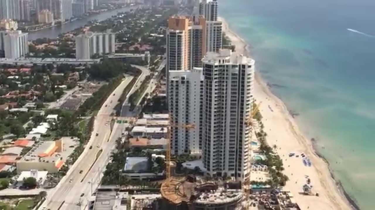 Porsche Design Tower >> Porsche Design Tower in Sunny Isles Beach - YouTube
