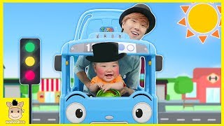 Nursery Rhymes Song | Learn colors with Tayo little bus kids toys & The Wheels on the bus for kids