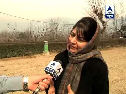 Mehbooba Mufti: Afzal Guru's hanging is political step