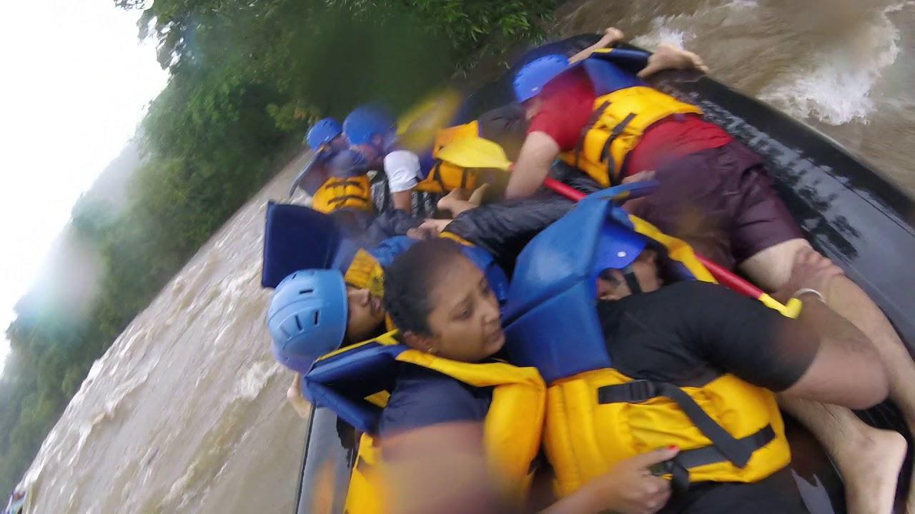 Download Kundalika kolad (Maharashtra) river rafting accident (Boat capsized amidst high rapids)