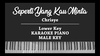 Download lagu Seperti Yang Kau Minta (LOWER KARAOKE PIANO COVER) Chrisye