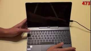 ASUS Transformer Book T100 Windows 8.1 Tablet PC Unboxing: T100TA-C1-GR
