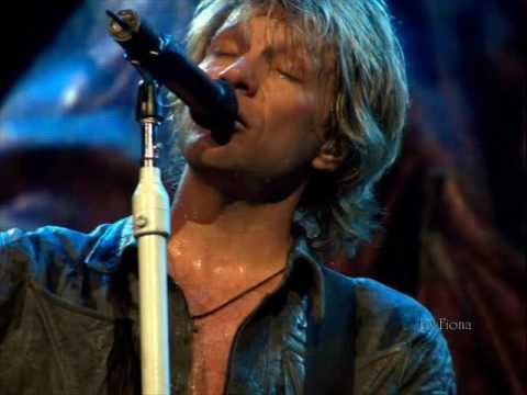 I want you- Bon Jovi