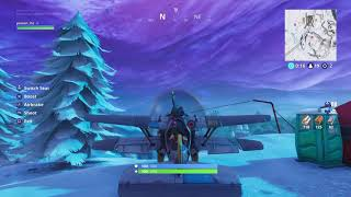 Decent ps4 player funny fail at the end FORTNITE