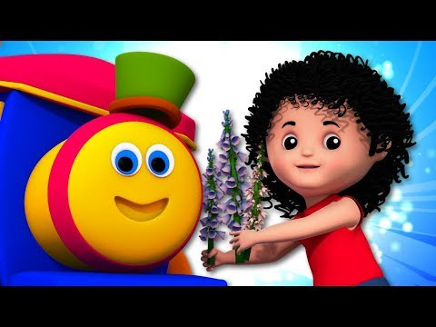 Mary Mary Quite Contrary | Nursery Rhymes With Bob The Train