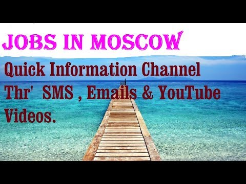 Jobs in MOSCOW  City for freshers & graduates. industries, companies. RUSSIA .