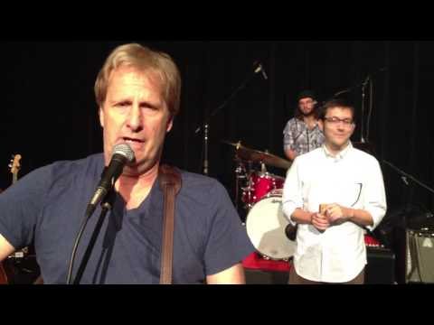(731) Jeff Daniels, Zachary Scot Johnson & The Ben Daniels Band Detroit Train Singing Live Newsroom
