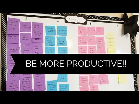 How I Create My 90 Day Plan And Use A Kanban Board to Achieve My Goals