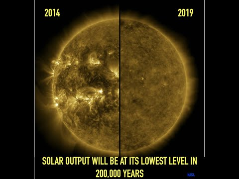 The Sun Will Be At Its Lowest Solar Output in 200,000 Years, Prof  Lee