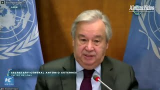 UN chief calls on developed countries to contribute more to tackling climate change