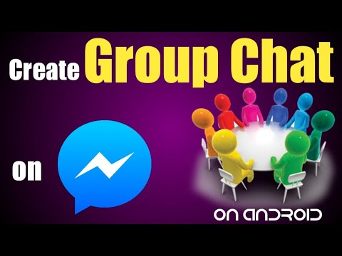 How To Create Group Chat On Messenger    Create Your Own Group Chat On Facebook Messenger