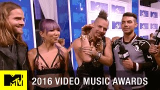 dnce are nominated for best new artist 2016 video music awards mtv