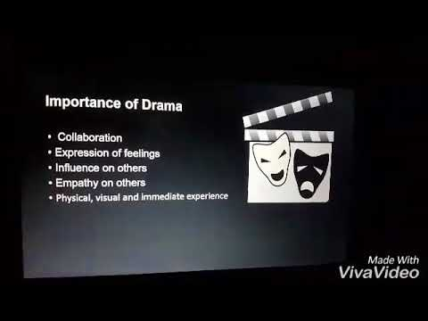 benefits of Using Drama in your Classroom (a student's work)