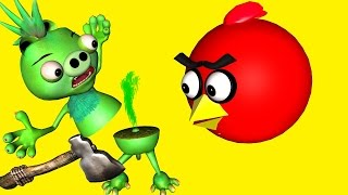 ANGRY BIRDS in DUMB WAYS to DIE 2 ♫ 3D animated  movie mashup  ☺ FunVideoTV - Style ;-))