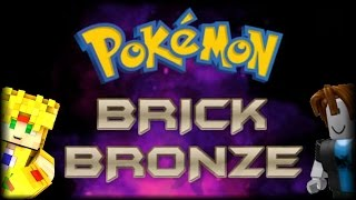 MON PREMIER TEMPS PLAYING ROBLOX - POKEMON BRICK BRONZE ON ANDROID !